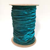 1 row 6 mm elastic cup sequin - TURQUOISE GREEN