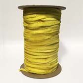 1 row 6 mm elastic cup sequin - YELLOW