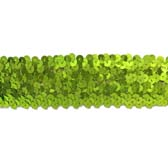 Elastic sequin, 4 rows, 1,6