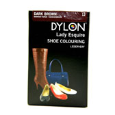 Dylon Bőrcipő festék - DARK BROWN