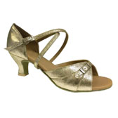Victor Major Zoja latin dance shoes - GOLD
