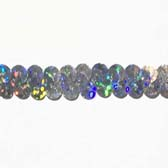 Holographic elastic sequin trim, 0.6