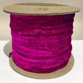 Elastic and prismatic sequin - FUCHSIA PRISM