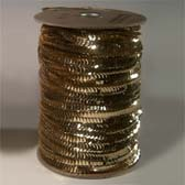 1 row 8 mm elastic cup sequin - GOLD