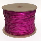 1 row 6 mm elastic, metal shining cup sequin - FUCHSIA 434
