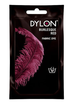 Dylon hidegízes ruhafesték - BURLESQUE RED (DYLON)