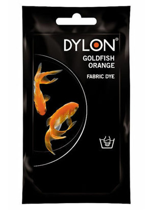 Dylon hidegízes ruhafesték - GOLDFISH ORANGE (DYLON)