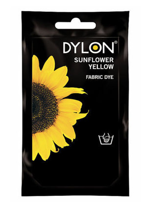 Dylon hidegízes ruhafesték - SUNFLOWER YELLOW (DYLON)