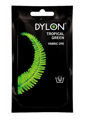 Dylon hidegízes ruhafesték - TROPICAL GREEN (DYLON)
