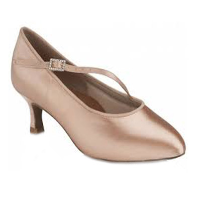 Standard női tánccipő: Freed of London Clara model - FLESH