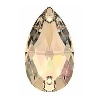 Stellux A330 Drop 18,0 x 10,5 mm-es varrható crystal - Stellux Crystal Golden Honey (001GOHON)