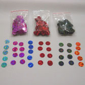 10 mm prismatic plate shape sequin