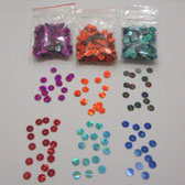 6 mm prismatic plate shape sequin