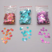 6 mm color transitional plate sequin