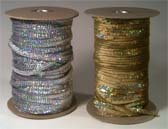 1 row 8 mm elastic holographic cup sequin