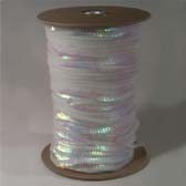 1 row 6 mm elastic iridescent cup sequin